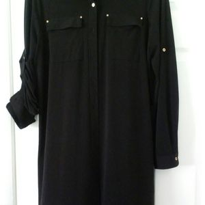 Black Calvin Klein Top/Top Dress/Jumpsuit Accessor